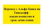 Перевод с Альфа банка на Тинькофф – какая комиссия и срок зачисления